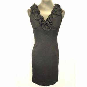 Romeo & Juliet Elegant Little Black Dress w Ruffle